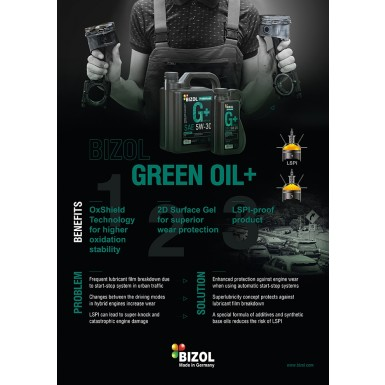 Poster Green Oil+ A2