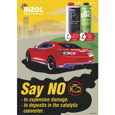 Poster for  Pro Catalytic System Clean+ p82 and Catalytic System Protect+ g82