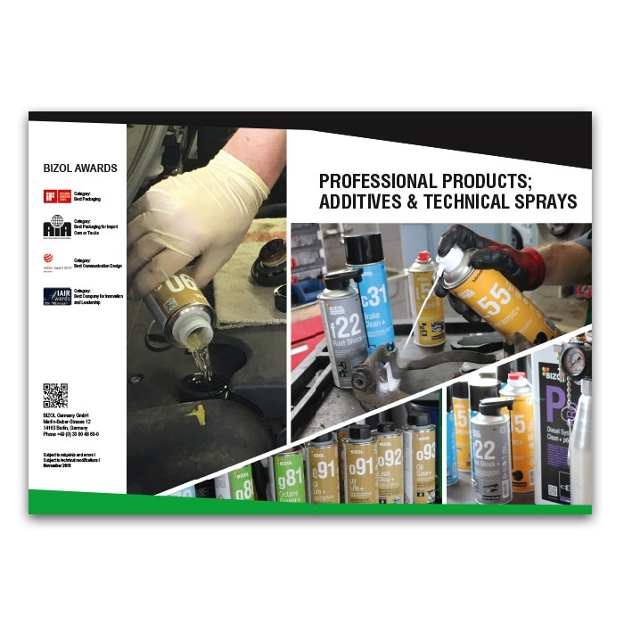 BIZOL Additives and Technical sprays (Brochures)