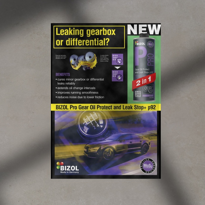 Poster for  Pro Gear Oil Protect and Leak Stop+ p92