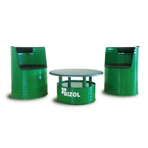 BIZOL Oil Barrel Furniture Set