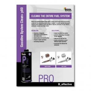 Poster for BIZOL Pro System Clean+ p80