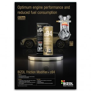 Poster for BIZOL Friction Modifier+ o94
